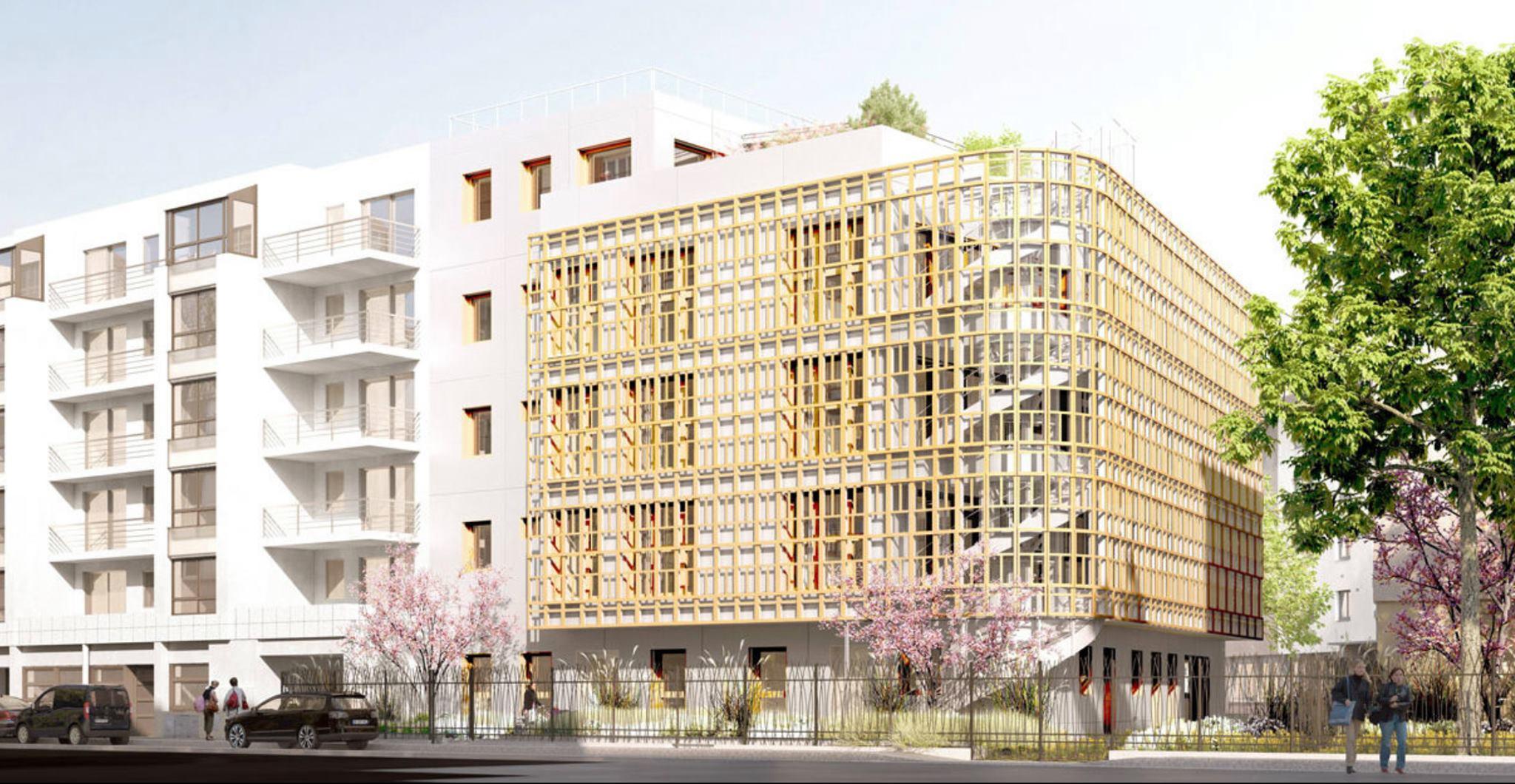 Crèche Justice Bellastock et BFV Architectes