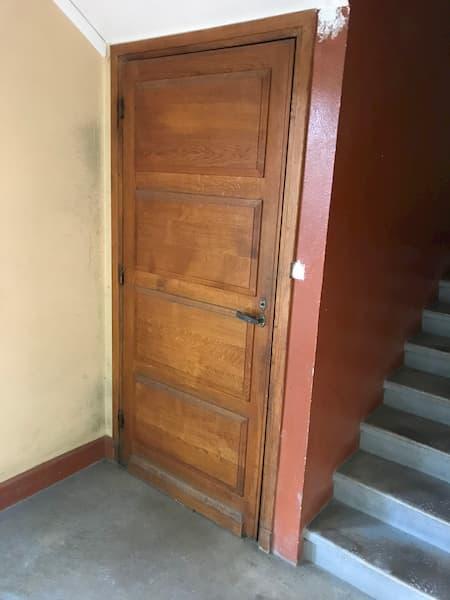 Porte chêne