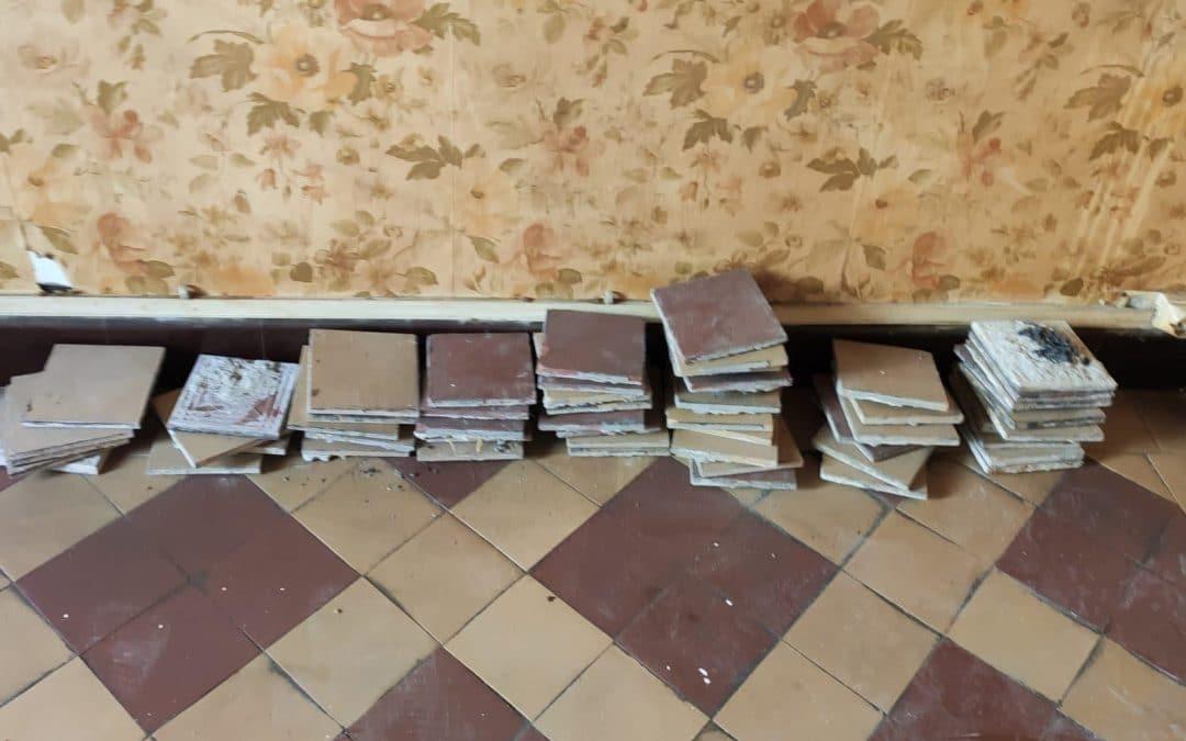 Initiation d'une démarche de réemploi dans un projet de réhabilitation de logements sociaux